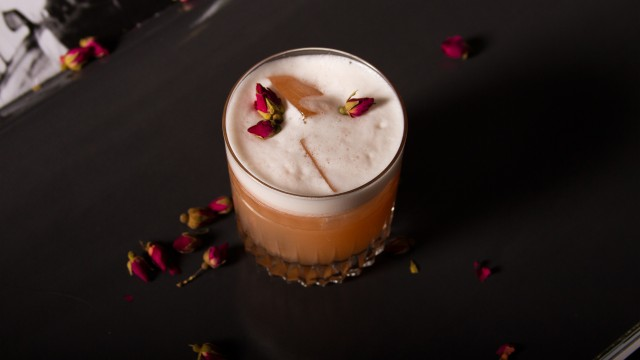 Whiskey Sour infusé au thé